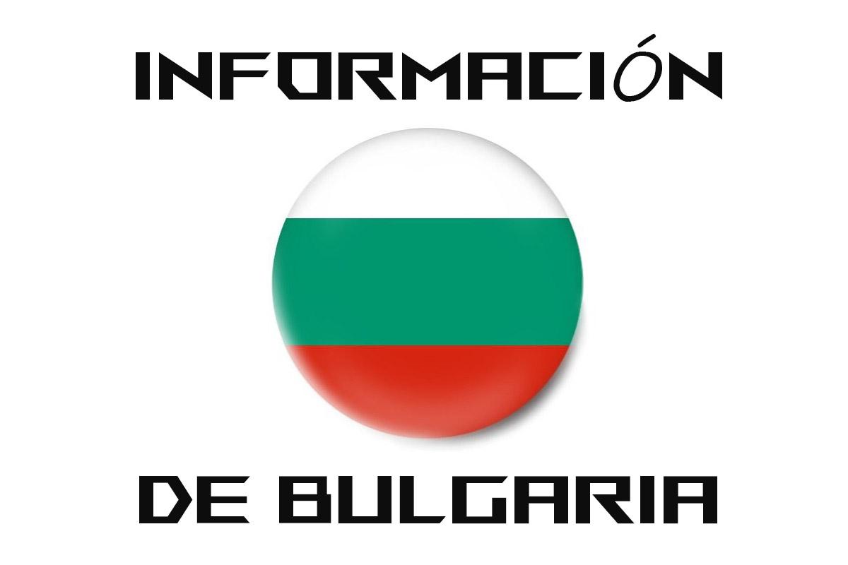 Información para el viaje a Bulgaria